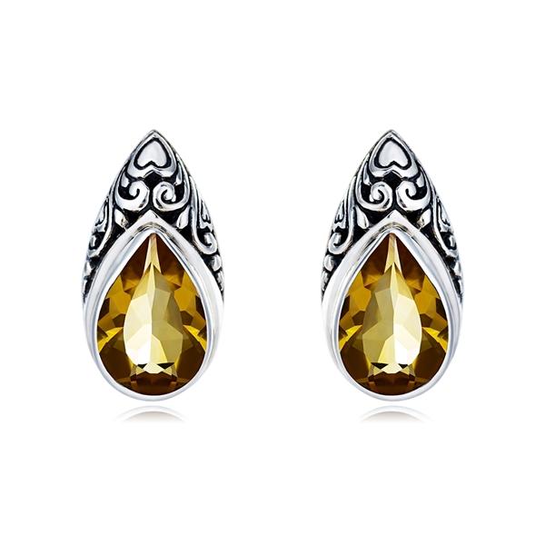 Picture of Medium Nature Topaz Drop & Dangle Earrings 3AS050450E