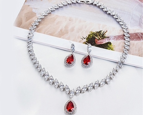 Picture for category Luxury CZ Jewelry- Wedding Sets