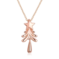 Show details for  Small Holiday Pendant Necklaces 3LK053800N