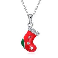 Show details for Zinc Alloy Small Pendant Necklaces 3LK053866N