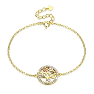 Show details for Holiday Swarovski Element Fashion Bracelets 3LK053897B