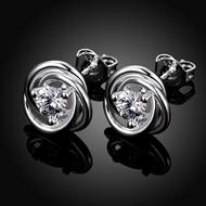 Picture of Nice Cubic Zirconia Small Stud Earrings