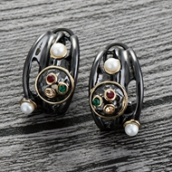 Picture of Casual Zinc Alloy Stud Earrings with Wow Elements