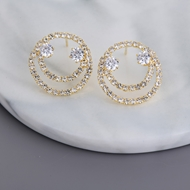 Picture of Need-Now White Delicate Stud Earrings from Editor Picks