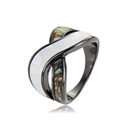 Picture of Fashion Zinc Alloy Fashion Ring with Beautiful Craftmanship