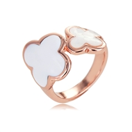Picture of Impressive Zinc Alloy Enamel Fashion Ring with Low MOQ