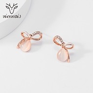 Picture of Rose Gold Plated Medium Stud Earrings at Great Low Price