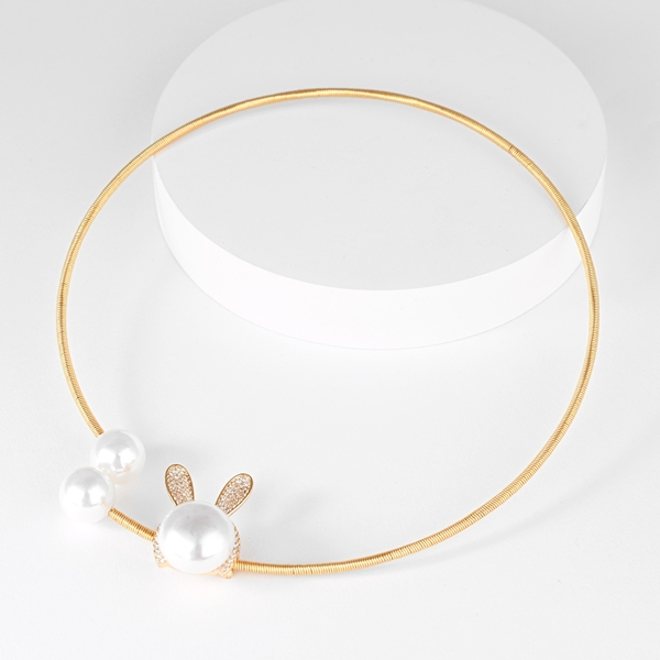 Picture of New Cubic Zirconia Classic Collar Necklace