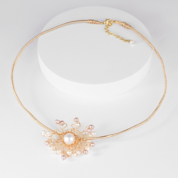 Picture of Best Artificial Pearl Classic Collar Necklace