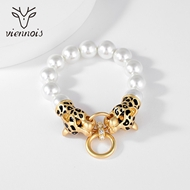 Picture of Top Artificial Pearl Zinc Alloy Fashion Bangle