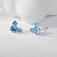 Picture of Great Swarovski Element Copper or Brass Stud Earrings