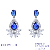 Picture of Luxury Cubic Zirconia Dangle Earrings at Unbeatable Price