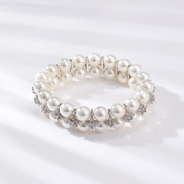 Picture of Popular Cubic Zirconia White Fashion Bracelet