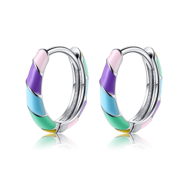 Picture of Affordable Platinum Plated Small Small Hoop Earrings from Trust-worthy Supplier