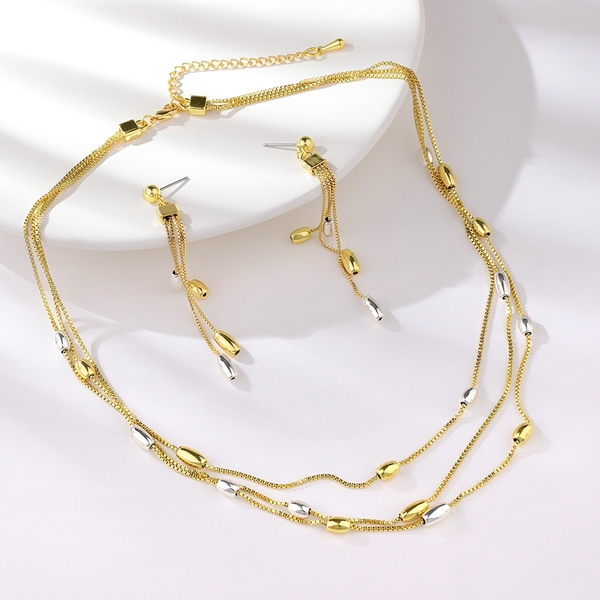 Picture of Zinc Alloy Dubai 2 Piece Jewelry Set From Reliable Factory